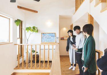 【コラボハウス】子どもたちがのびのび育つ、吹抜けのある自然素材の家 | 後編